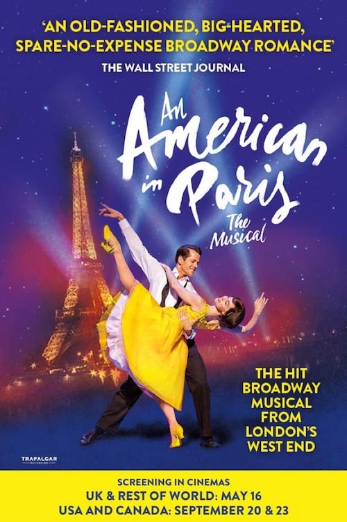 An American In Paris in Cinemas Poster